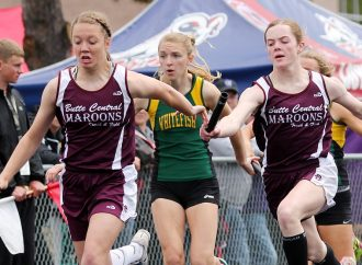 Maroons' Rachael McGree jumps ahead at State A