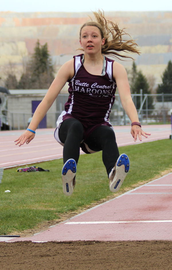 kylee carter track and field