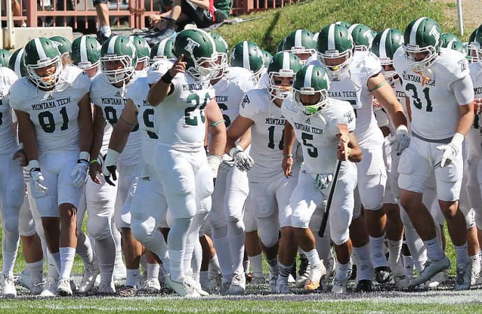 Orediggers close spring with Green and White Game