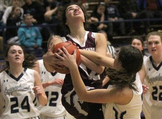Butte Central girls run past Copperheads at Snake Pit