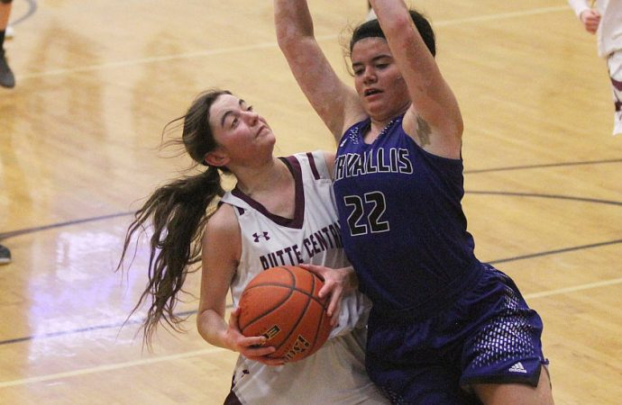 Butte Central girls roll to Senior Night victory