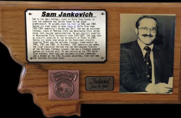 Civic Center reception will honor Sam Jankovich