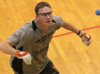 Brett Badovinac wins eighth City Handball title