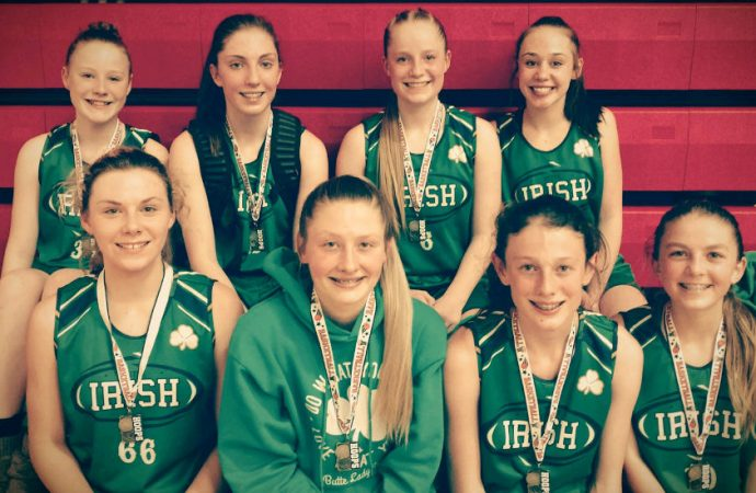 Lady Irish bring home title from Dillon tournament