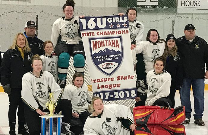Butte Originals skate to 16U state hockey title