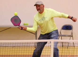 Pickleball catching on in the Mining City