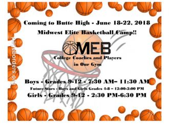 Midwest Elite Basketball Camp coming to Butte High