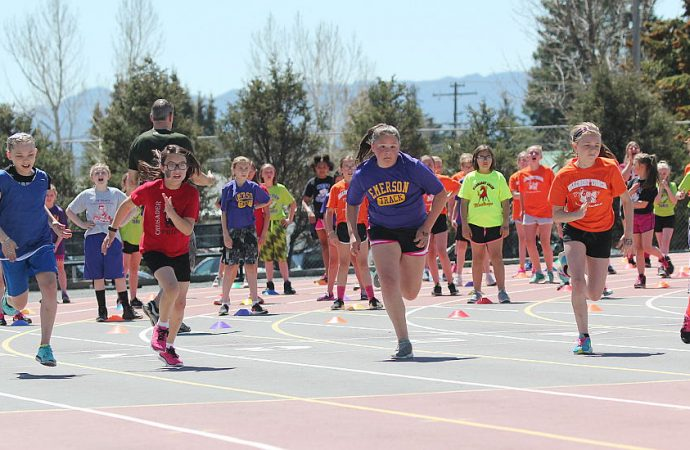 Grade School Track Meet will run on Wednesday