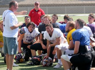 West Side checks in for Shrine Game training