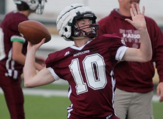 Butte Central football team shows off talent
