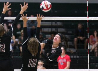 Maroon volleyball team showcases 'options'