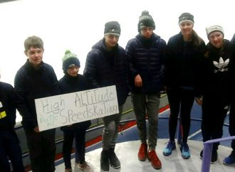 Butte speed skaters compete at Alberta Open