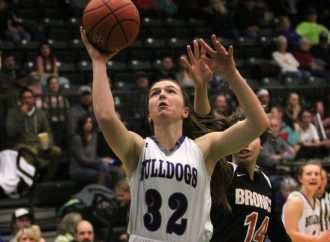 Butte High girls roll to victory on Senior Night