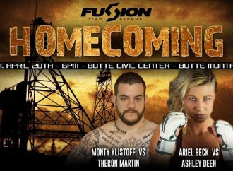 Beck, Klistoff highlight April 20 'Homecoming' card