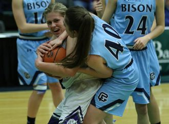 Bison hold off Bulldogs for State AA loser-out win