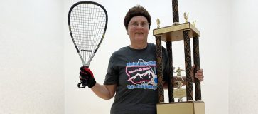 Image result for winning at women's racquetball