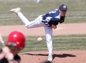Lakers sink Miners in Mother's Day twin bill