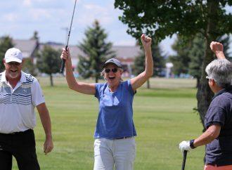 Hall of Fame celebration kick off on golf course