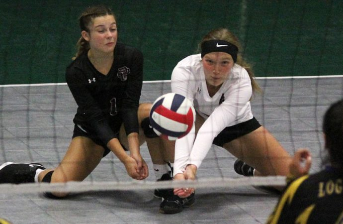 BC volleyball team settles for fourth place
