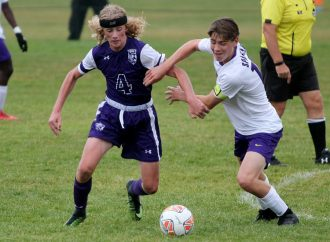 Sentinel soccer stars burn Butte High boys