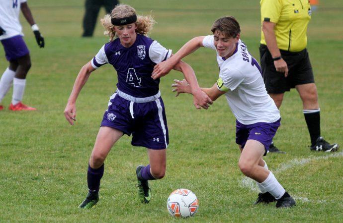 Sentinel soccer stars burn Butte High boys
