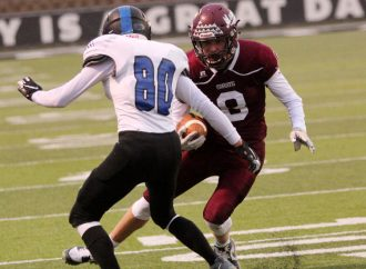 Maroons ride second half to first win of season