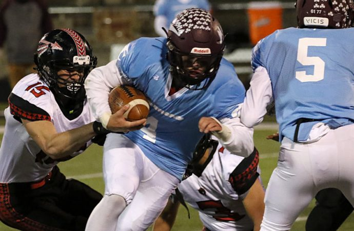 Maroons don IC uniforms, roll past Browning