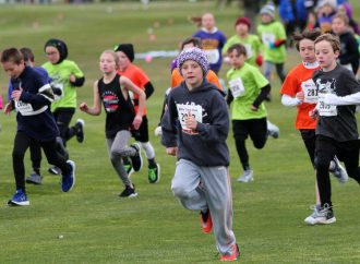 Butte runners up and down on new 'Carnival' course