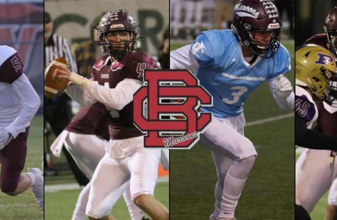 Four Maroons take home All-State honors