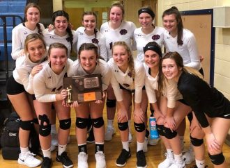 BC volleyball brings home third-place trophy