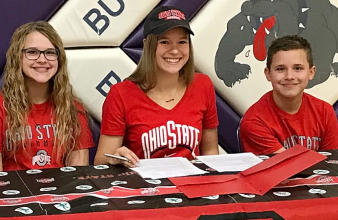 Butte's Russo officially signs with Buckeyes