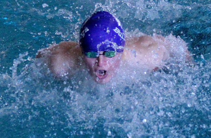 Bulldogs swim to sixth, seventh at home meet