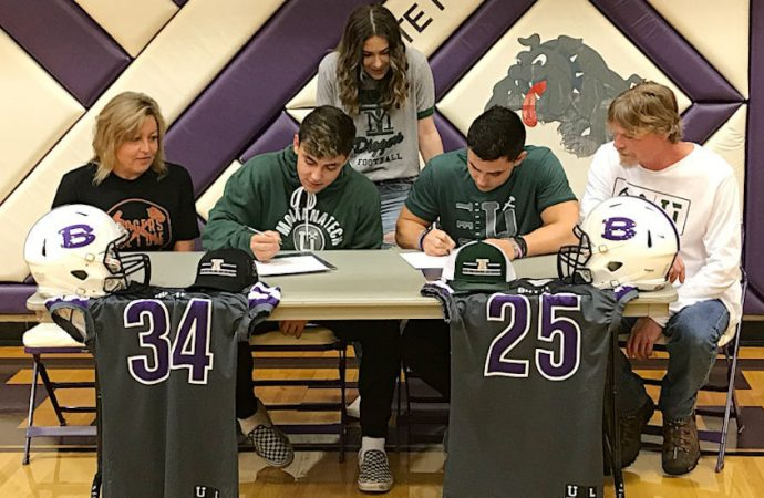 Butte High brothers make Tech signing official