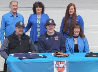 Butte's Ryan Burt signs with University of Mary baseball