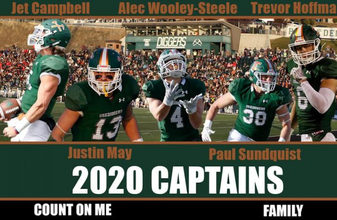 Orediggers name captains