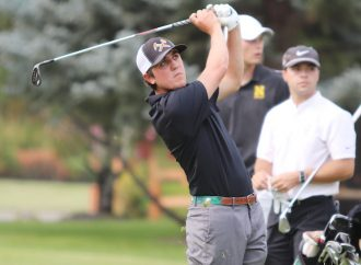 Trey Hoagland's 64 leads Orediggers to victory