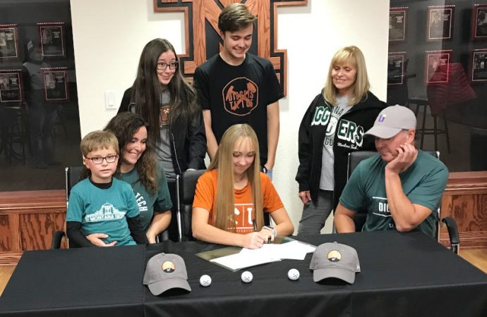 Butte High's Kennedy Lean signs with Tech golf