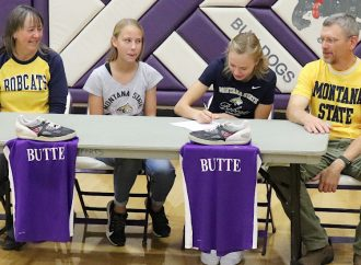 Butte's Anna Trudnowski signs with Bobcat track