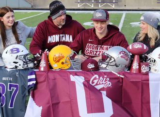 Now it's real: Jake Olson officially signs with Griz