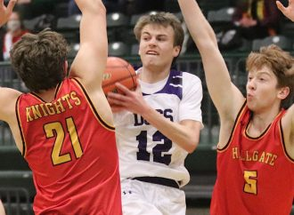 Arthur, Knights top Dogs at overtime buzzer
