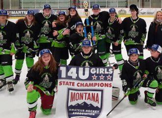 Butte girls skate to 14U state championship