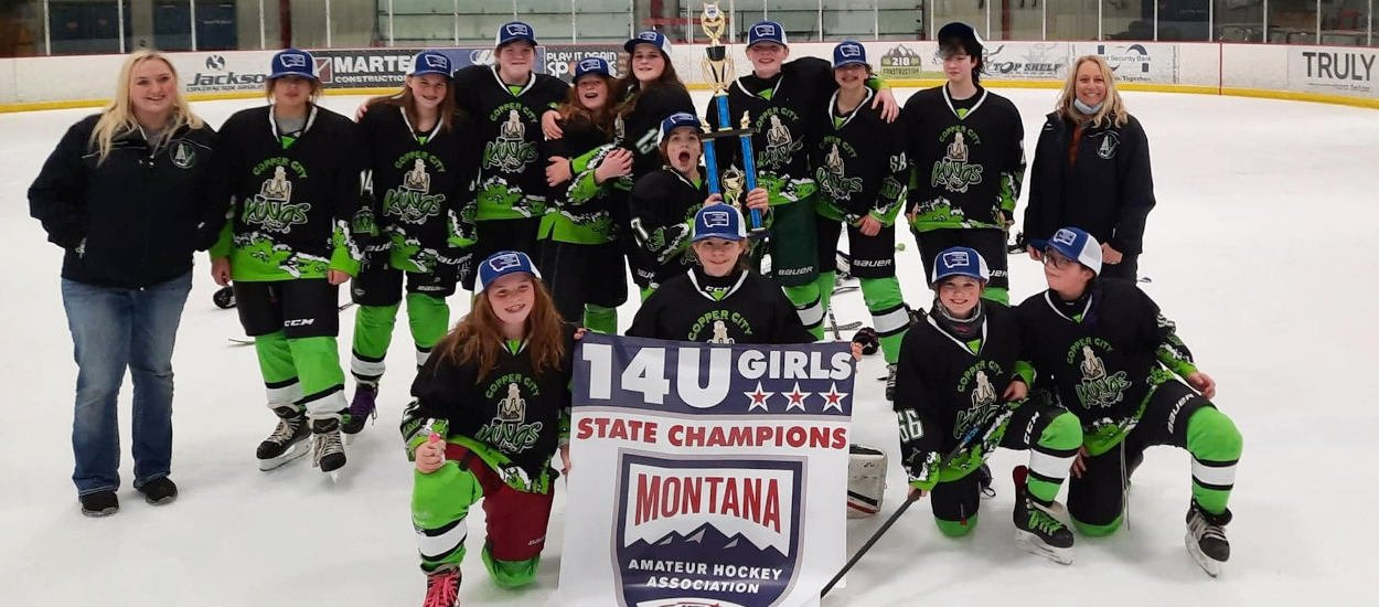 Butte girls skate to 14U state championship